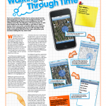 Walking Through Time JISC article